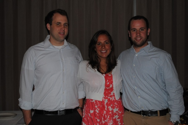 Me and my brothers. Yep. they are THAT tall